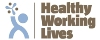 Healthy Working Lives Gold logo