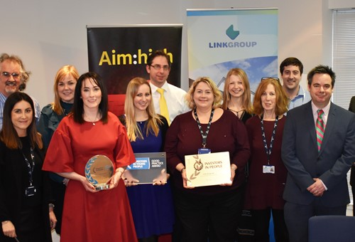 Link group receives Investors in People awards
