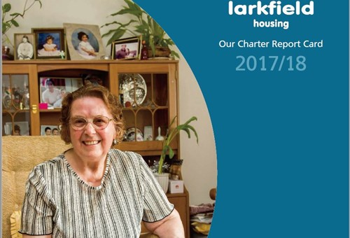 Front page of our Charter Report Card 2017/18